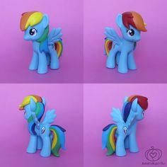 Rainbow Dash Custom by Amandkyo-Su on deviantART