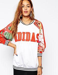 Image 1 ofAdidas Originals X Rita Ora Dragon Sweatshirt