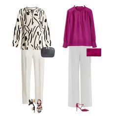 Capsule wardrobe, Ivory trousers