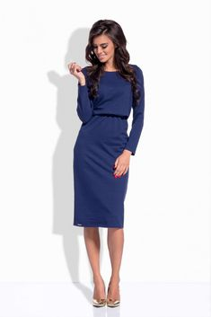 The best online fashion store, carrying over 500 global stylish branded across menswear, womenswear, and accessories. Best Online Fashion Stores, Navy Blue Dresses, Women Wear, Dresses For Work, Chic, Stylish, Sleeves, Casual, Shopping