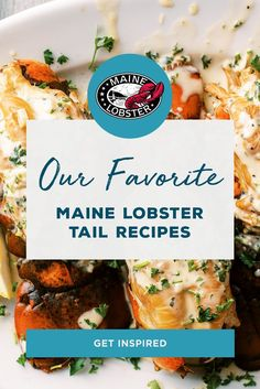 If there is one thing we know, it's lobster tails. And trust us, these are the best of the best. Lobster Recipes, Fish Recipes, Seafood Recipes, Chicken Recipes, Snack Recipes, Dinner Recipes, Cooking Recipes, Healthy Recipes, Crab And Lobster