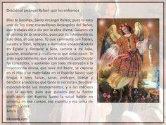 Oracion al Arcangel  Rafael