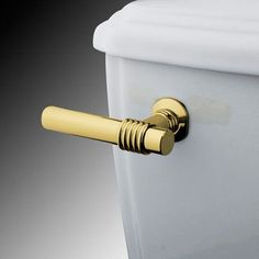 Kingston Brass Milano Toilet Tank Lever Finish: Polished Brass