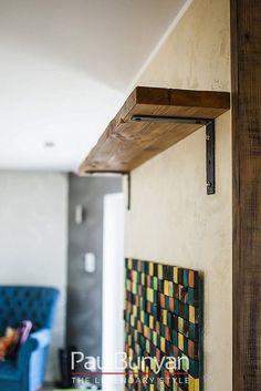 Półka drewniana ze starego drewna - model KD Półki drewniane ze starego drewna
