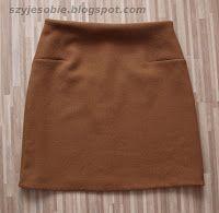 Susanna szyje: Takie tam nic nadzwyczajnego. Spódniczka model 123 B, Burda nr: 12/2010