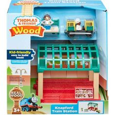 Buy Fisher-Price Thomas & Friends Wood Knapford Train Station for CAD Wakanda Marvel, Trains For Sale, Thomas And Friends, Friends Tv Show, Train Set, Models, Classic Toys, Wood Toys, Train Station