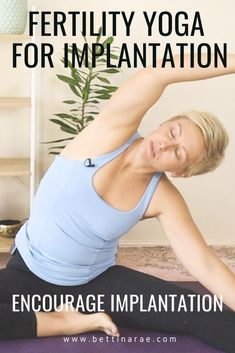 When you're trying to conceive lifestyle changes are often focused on improving egg (and sperm) quality, however there are also things we can do to encourage implantation as well.  Successful implantation is thought to be reliant on a number of factors including healthy circulation, endometrial lining and hormonal balance. Learn more about these and practice a fertility yoga class to encourage implantation. Pregnancy After Miscarriage, Pregnancy Care, Pregnancy Workout, Hormon Yoga, Yoga Moves, Yoga Flow, Fertility Yoga, Fertility Foods, Yoga For Infertility
