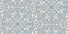 Persia Indigo (1939/705) - Prestigious Wallpapers - A non-woven paste the wall all over motif design with a strong eastern influence in its delicate detail and tile like pattern repeat. Shown in indigo. Other colours available. Please ask for sample for true colour match.