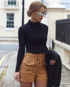 25 Looks with Fashion Blogger Nada Adelle Glamsugar.com Simple Style