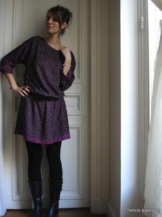 inspiration patron gratuit robe housse
