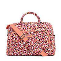 Vera Bradley Weekender Travel Bag Pixie Confetti NWT