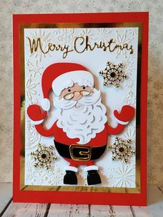 Christmas is coming...in the crafting world at least!  Here are some cards I made for the Tonic Studios Christmas Buildables launc...