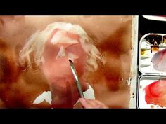 Watercolor portrait workshop - a different painting approach, lesson 1 - YouTube