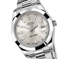 Rolex Datejust II with smooth bezel (116300)