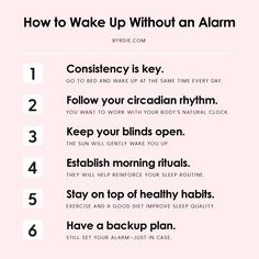 How to wake up without an alarm and still get a good night's rest