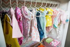 Create an DIY Baby Wardrobe Closet thats just as adorable as it is inexpensive! DIY by Kristin Smith! For more great DIYs tune in to Home & Family weekdays at 10a/9c on Hallmark Channel!