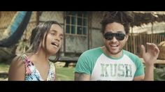 """""""Hello"""" ~ a fantastic Reggae cover of Adele's song by 14 yr old Rodesha and Conkarah from the Solomon Islands."""