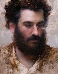 Self-portrait Jeremy Lipking American realist painter, is inspired by the figurative tradition of XIX. Figure Painting, Painting & Drawing, L'art Du Portrait, Portrait Paintings, Illustration Art, Illustrations, California Art, Figurative Art, Painting Inspiration