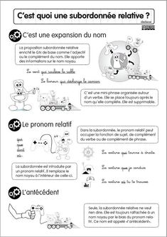 How To Learn French Embroidery Stitches French Sentences, French Verbs, French Grammar, Read In French, How To Speak French, Learn French, French Flashcards, French Worksheets, Phrases Complexes