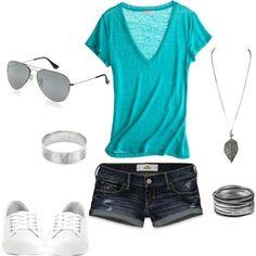 Cute Camping Outfits Summer Casual Shirts 48 New Ideas Summer Fashion Outfits, Cute Summer Outfits, Summer Wear, Short Outfits, Spring Summer Fashion, Casual Outfits, Cute Outfits, Summer Clothes, Style Summer