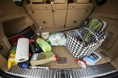 Let's face it, having an organized trunk is often a bridge too far.  If you are a parent, then that means your kids' stuff takes up entirely too much of your trunk space preventing you from comfortably fitting in groceries or your own personal items.  If you are a bachelor, your trunk is a mess! Valuable sporting equipment laying right next to automotive products. What if you could have a system where your groceries stay in one place instead of tumbling out of the bags because you stopped…