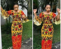 The complete pictures of latest ankara long gown styles of 2018 you've been searching for. These long ankara gown styles of 2018 are beautiful Ankara Gown Styles, Ankara Gowns, Ankara Dress, Ankara Fabric, Dress Styles, Ankara Blouse, Blouse Styles, African Fashion Designers, African Print Fashion