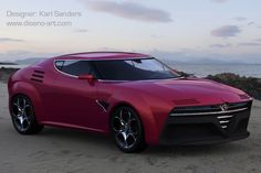 Alfa Romeo Montreal Concept #alfaromeomontreal