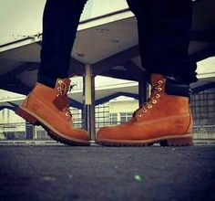 Matching Timbs couple? So cute!