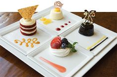 think about plating - use sauces and garnishes to fancy things up