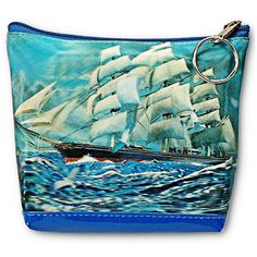 3D Lenticular Coin Purse Bag Classic SHIP on Ocean Sea Waves #PK-047-Pavia from Lantor Ltd., $9.95: A coin and dollar purse! Compact, but big enough to keep all your essentials together. constructed with soft Lenticular PVC and with a lined interior. features a 3D image of one of those old-timey ships with waves crashing against it. measures 5 inch. X 4 inch. x 1.5 inch. Click here to purchase: http://www.lantorlimited.com/Lenticular-Purse-3D-Lenticular-Images-Naval-Batt-p/ssp-149-pavia.htm