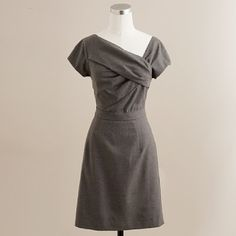 Wool Oragami Dress