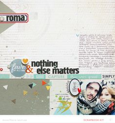 #papercraft #scrapbook #layout ...nothing else matters [Main kit Only] by ania-maria at @Studio_Calico