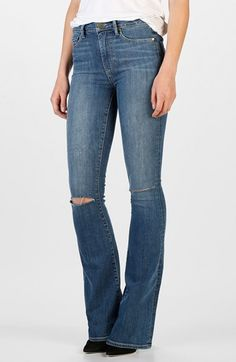 Paige Denim 'Margot' Ultra Skinny Jeans (Alanis) available at #Nordstrom