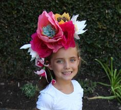 Child Day of the Dead Headband / Dia de los by ALittleMerriment