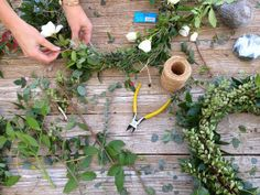 The Willows Home & Garden: Wreath Making