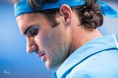 Roger Federa at Australian Open