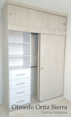 New Closet Modernos Madera 61 Ideas Bedroom Cupboard Designs, Wardrobe Design Bedroom, Bedroom Cupboards, Closet Bedroom, Room Ideas Bedroom, Bedroom Decor, Closet Layout, Closet Remodel, Home Room Design