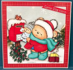 Christmas First Letter To Santa - made by Cheryl French