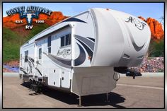 2016 Northwood Arctic Fox 32-5M Triple Slide 5th Wheel Brand New FOR SALE! (Stock# 145527) Call us today with an offer that works for you! Toll free at 1.888.385.1122 or online at www.DesertAutoplex.com #northwood #trailer #travel #arctic #fox #arcticfox #325m #32-5m #5thwheel #fifth #wheel
