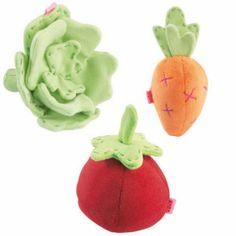 baby veggie stuffed toys | JulieStuff - HABA Baby Toys
