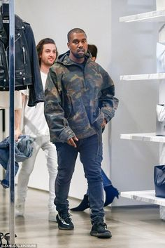 Kanye West wearing Yeezy Boost 350 Season 3