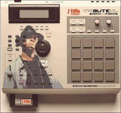 MPC2000XL J Dilla (rip) customized edition