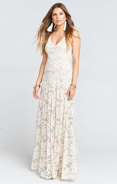4b601e4fa8f Jenn Maxi Dress ~ Lovers Lace Show Me The Ring