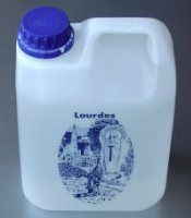 LOURDES WATER in Lourdes Apparition Bottle Gal) AUTHENTIC: Lourdes Water in gallons) bottle. Please be assured that this bottle contains genuine Lourdes Water from the spring at the Grotto. Please note this product is non consumable and non returnable. Running Accessories, Bottle Top, Catholic Gifts, Plastic Containers, Camping And Hiking, Spray Bottle, Sprinkles, Craft Projects, Water Bottles