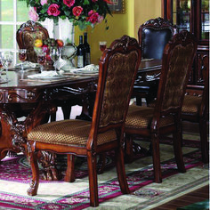 Acme Furniture - Dresden Fabric Upholstered Side Chair (Set of - 12153 Acme Furniture, Furniture Direct, Mirrored Furniture, Furniture Removal, Quality Furniture, Entry Furniture, Furniture Companies, Solid Wood Dining Chairs, Upholstered Dining Chairs