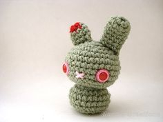 Zombie Moon Bun  Undead Amigurumi Bunny Rabbit von MoonsCreations