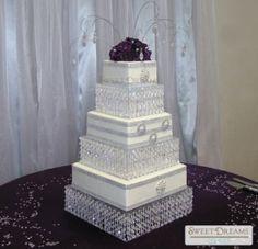 Wedding Decorations   Crystal Wedding Cake Stand | Cake Stands U0026 Toppers |  Pinterest | Wedding Cake Stands, Wedding Cake And Crystal Wedding