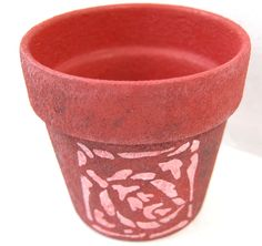 Re Vamp Your Flowerpots To Add Colour To Your Garden (or Personalise For A. Patio  PaintGarden ...