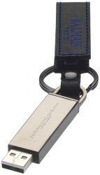 CHAMONIX USB STICK. 4GB USB stick met leer bekleed. Metaal.