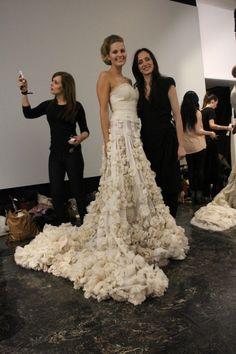 <3 Maria Skappel og Leila Hafzi // Oslo fashion week